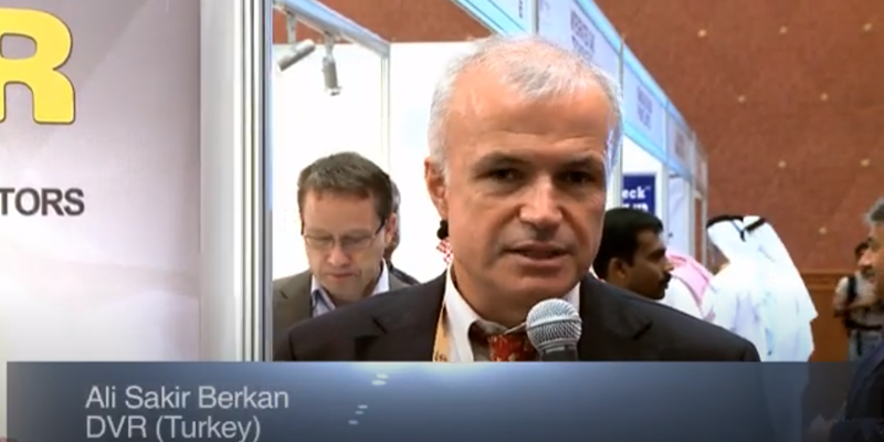Interview with Mr Ali Sakir Berkan of DVR at the World LP Gas Forum 2011, Doha
