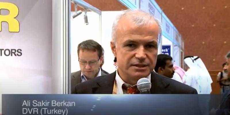 Interview with Mr Ali Sakir Berkan of DVR at the World LP Gas Forum 2011, Doha
