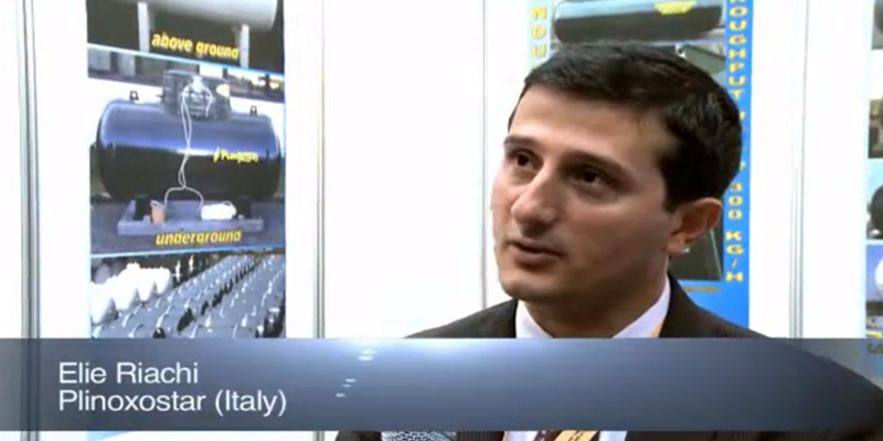 Interview with Mr Elie Riachi of Plinoxotar at the World LP Gas Forum 2011, Doha