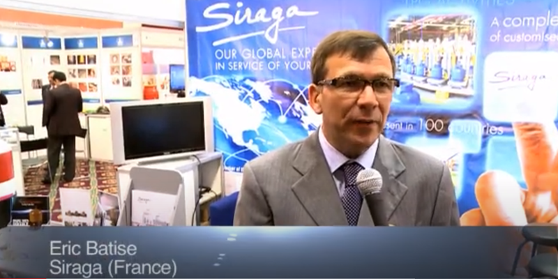 Interview with Mr Eric Batise at the World LP Gas Forum 2011, Doha