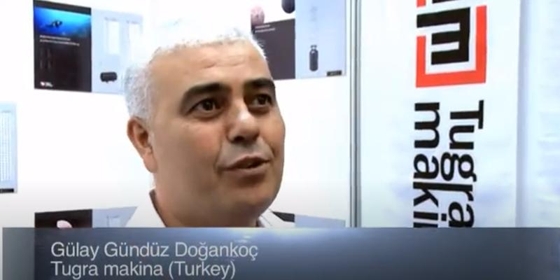Interview with Mr Gülay Gündüz Dogankoc of Tugra Makina at the World LP Gas Forum 2011, Doha