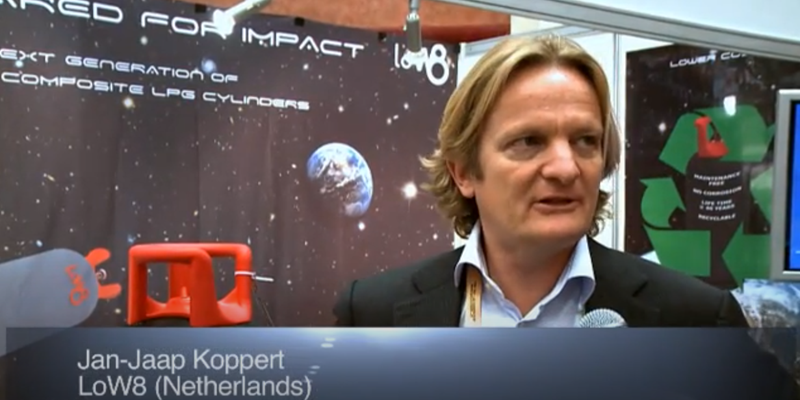 Interview with Mr Jan-Jaap Koppert of ALE at the World LP Gas Forum 2011, Doha