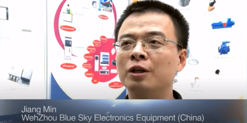 Interview with Mr Jiang Min of Bluesky at the World LP Gas Forum 2011, Doha