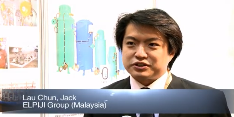 Interview with Mr Jack Lau Chu of Elpiji Group at the World LP Gas Forum 2011, Doha