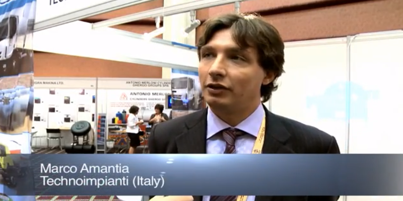 Interview with Mr Marco Amantia of Technoimpianti at the World LP Gas Forum 2011, Doha
