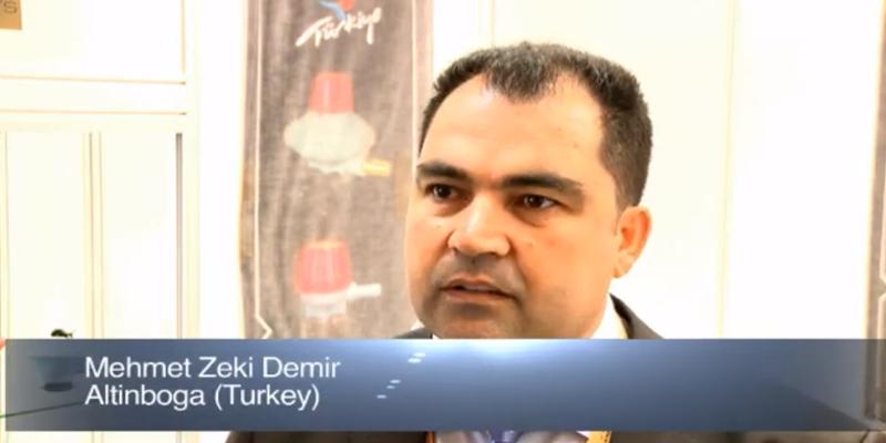 Interview with Mr Mehmet Zeki Demir of Altinboga at the World LP Gas Forum 2011, Doha