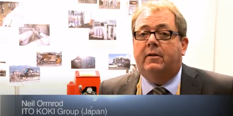 Interview with Mr Neil Ormrod of ITO Europe at the World LP Gas Forum 2011, Doha