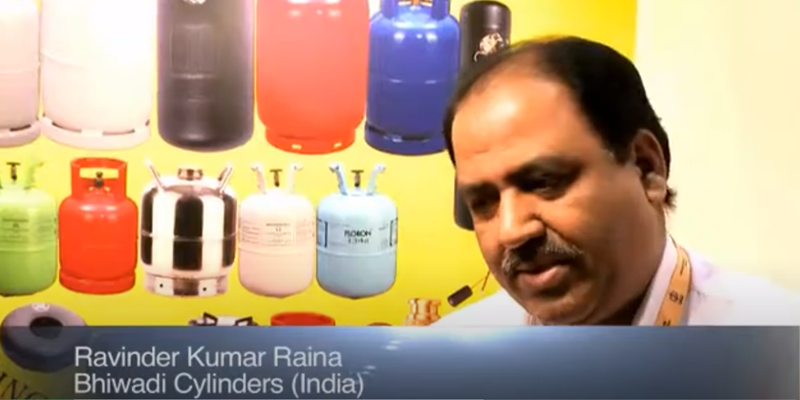 Interview with Mr Rainark of Bhiwadi Cylinders at the World LP Gas Forum 2011, Doha