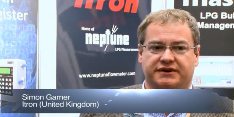 Interview with Mr Simon Garner of ITRON at the World LP Gas Forum 2011, Doha