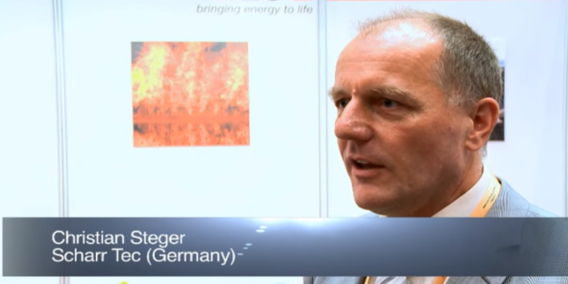 Interview with Mr Christian Steger of Scharr Tec at the World LP Gas Forum 2011, Doha