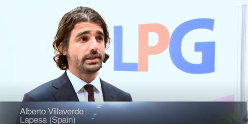 Interview with Mr Alberto Villaverde of Lapesa at the World LP Gas Forum 2011, Doha