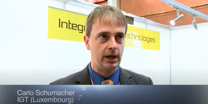 Interview with Mr Carlo Schumacher of IGT at the World LP Gas Forum 2011, Doha