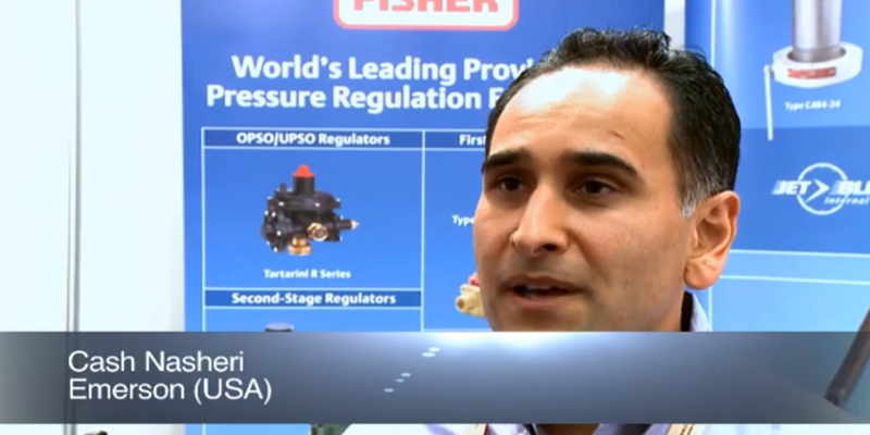 Interview with Mr Cash Nasheri of Emerson at the World LP Gas Forum 2011, Doha