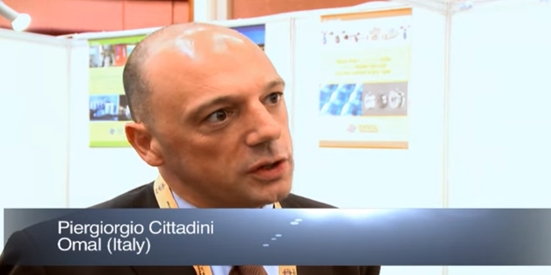 Interview with Mr Piergiorgio Cittadini of OMAL at the World LP Gas Forum 2011, Doha