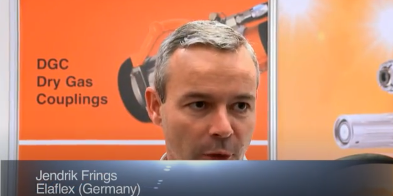 Interview with Mr Jendrik Frings of Elaflex at the World LP Gas Forum 2011, Doha