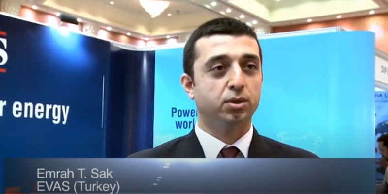 Interview with Mr Emrah T Sak of EVAS at the World LP Gas Forum 2011, Doha