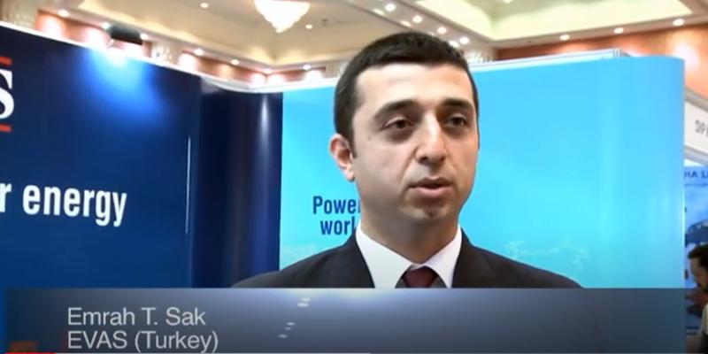 Interview with Mr Emrah T Sak of EVAS at the World LP Gas Forum 2011, Doha