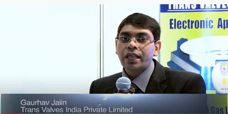Interview with Mr Gaurhav Jaiin of Trans Valves (India) at the World LP Gas Forum 2011, Doha