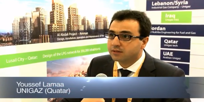 Interview with Mr Youssef Lamaa of UNIGAZ at the World LP Gas Forum 2011, Doha