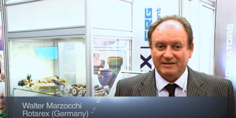 Interview with Mr Walter Marzocchi of Rotarex at the World LP Gas Forum 2011, Doha