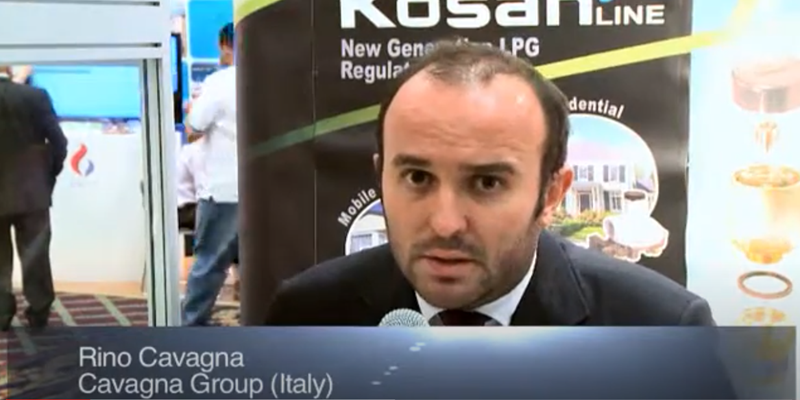 Interview with Mr Rino Cavagna at the World LP Gas Forum 2011, Doha