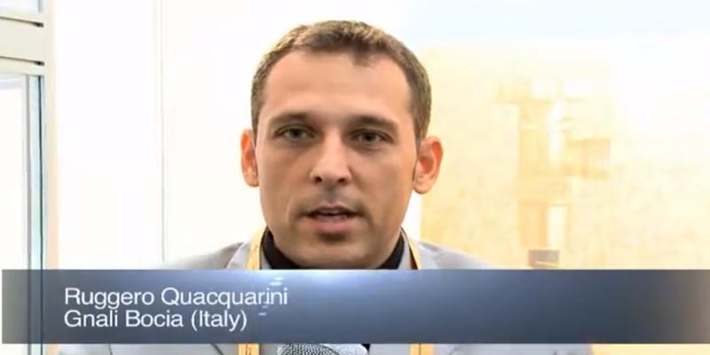 Interview with Mr Ruggero Quacquarini of Gnali Bocia at the World LP Gas Forum 2011, Doha