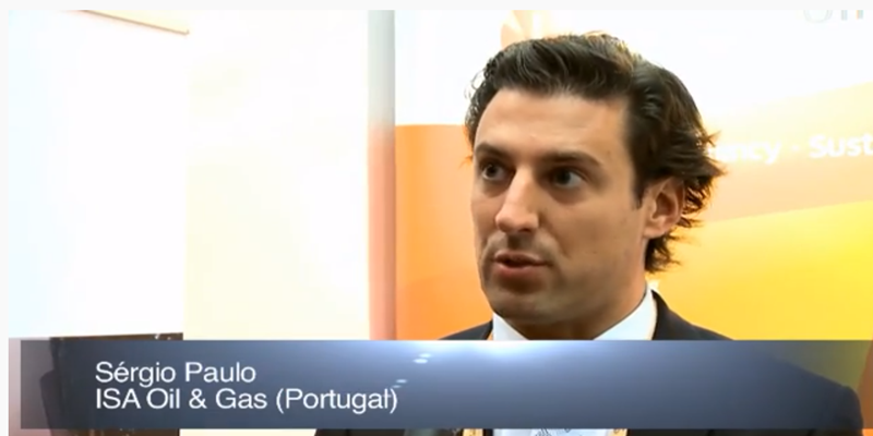 Interview with Mr Sérgio Paulo ISA Oil & Gas at the World LP Gas Forum 2011, Doha