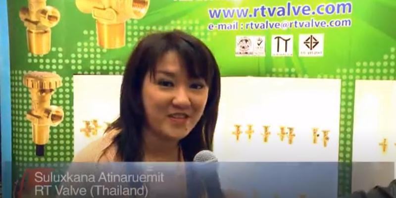 Interview with Ms. Suluxkana Atinaruemit RT Valve at the World LP Gas Forum 2011, Doha