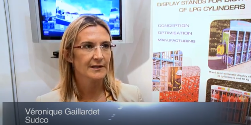 Interview with Ms.Veronique Gaillardet of Sudco at the World LP Gas Forum 2011, Doha