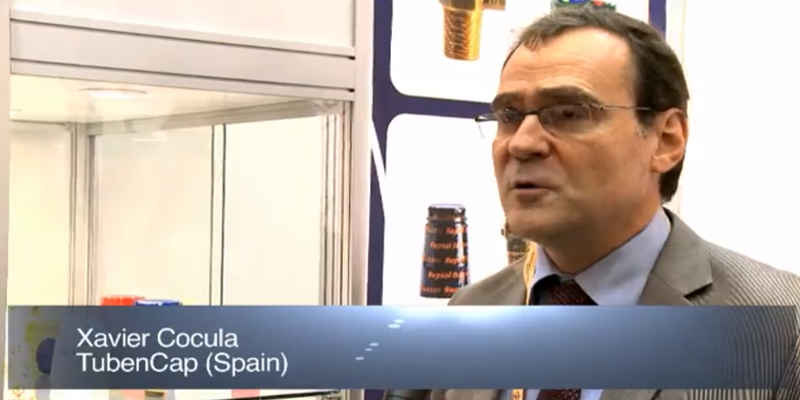 Interview with Mr Xavier Cocula of TubenCap at the World LP Gas Forum 2011, Doha