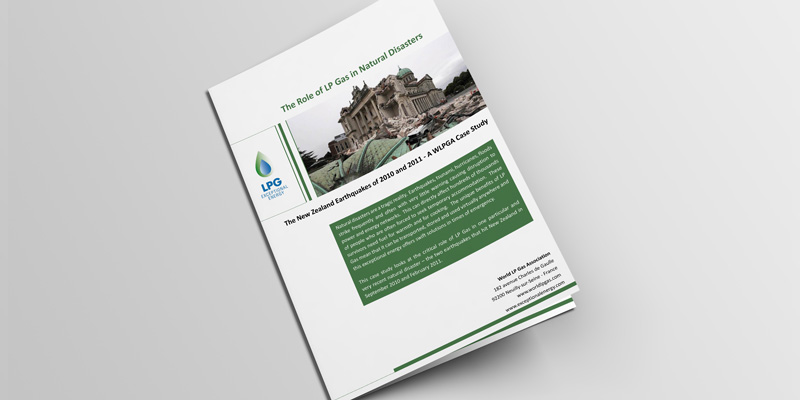 The Role of LPG in Natural Disasters: the New Zealand Earthquakes of 2010 and 2011