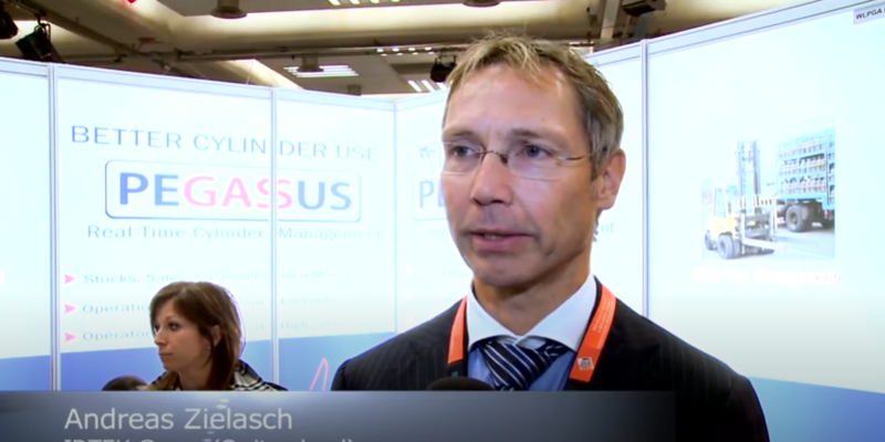 Interview with Andreas Zielasch of IDTEK Group at the World LP Gas Forum 2013