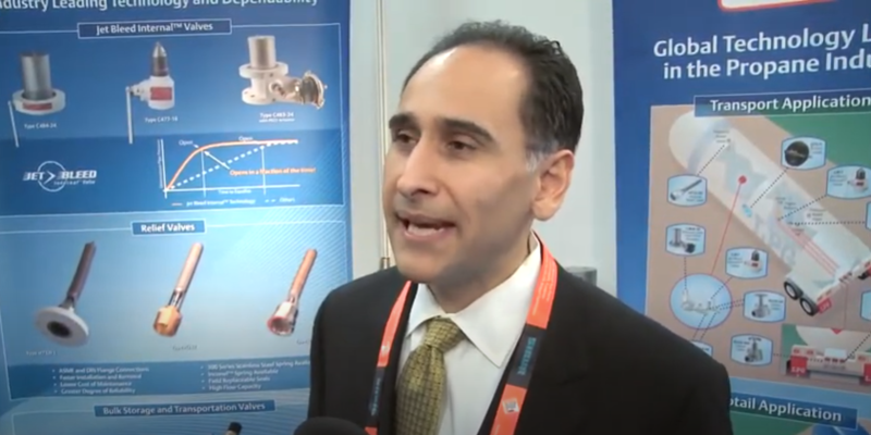 Interview with Cash Nasheri of Emerson Process Management at the World LP Gas Forum 2013