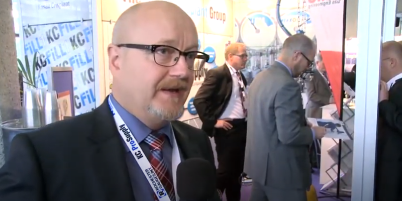 Interview with Christian Fredberg of Kosan Crisplant at the World LP Gas Forum 2013