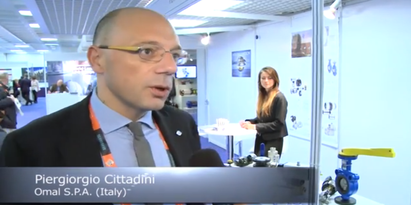 Interview with Piergiorgio Cittadini of Omal at the World LP Gas Forum 2013