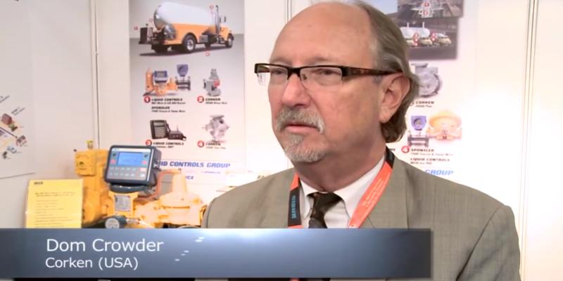 Interview with Dom Crowder of Corken at the World LP Gas Forum 2013