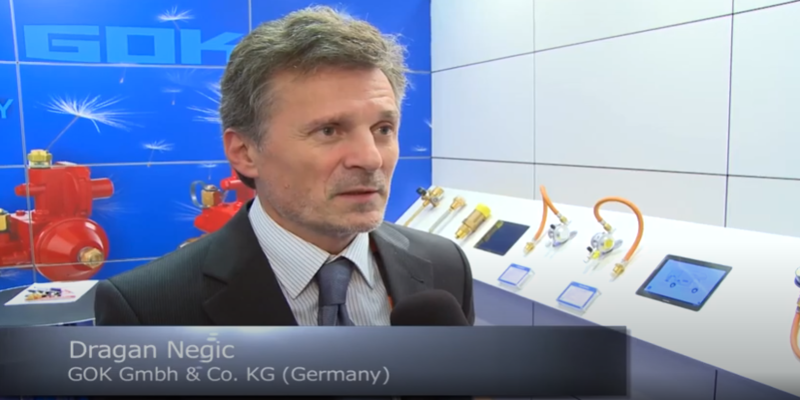 Interview with Dragan Negic of GOK Gmbh at the World LP Gas Forum 2013