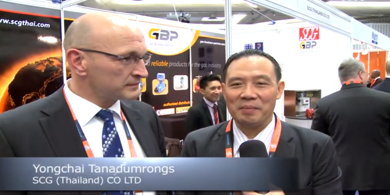 Interview with Yongchai Tanadumrongs of SCG at the World LP Gas Forum 2013