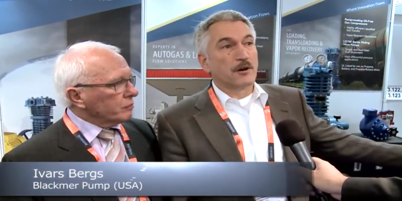 Interview with Ivars Bergs of Blackmer & William Ebsary of Ebsary Pump at the World LP Gas Forum 2013