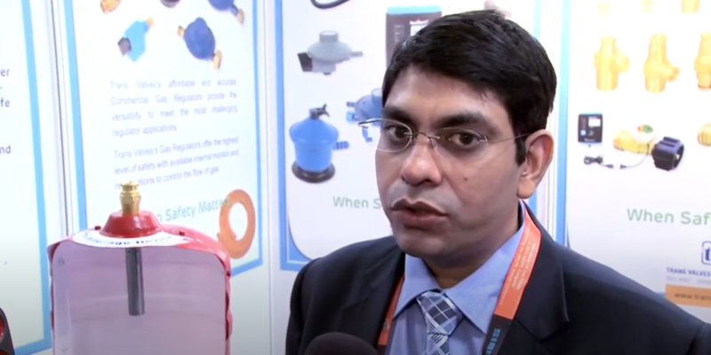 Interview with Gaurhav Jaiin of Trans Valves India at the World LP Gas Forum 2013