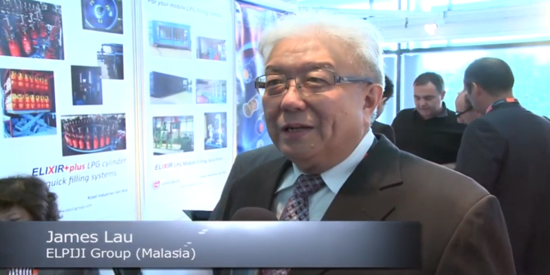 Interview with James Lau of Elpiji Group at the World LP Gas Forum 2013