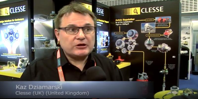 Interview with Kaz Dziamarski of Clesse at the World LP Gas Forum 2013
