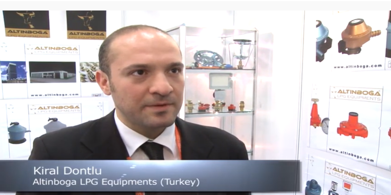 Interview with Kiral Dontlu of Altinboga LPG Equipments at the World LP Gas Forum 2013