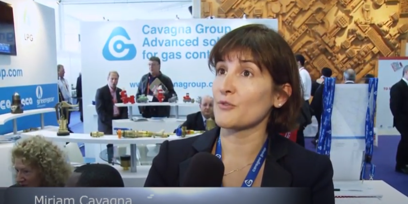 Interview with Miriam Cavagna of Cavagna Group at the World LP Gas Forum 2013