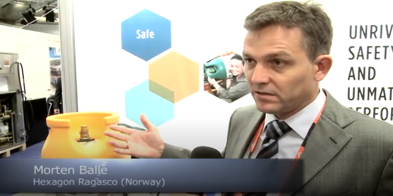 Interview with Morten Balle of Hexagon Ragasco at the World LP Gas Forum 2013