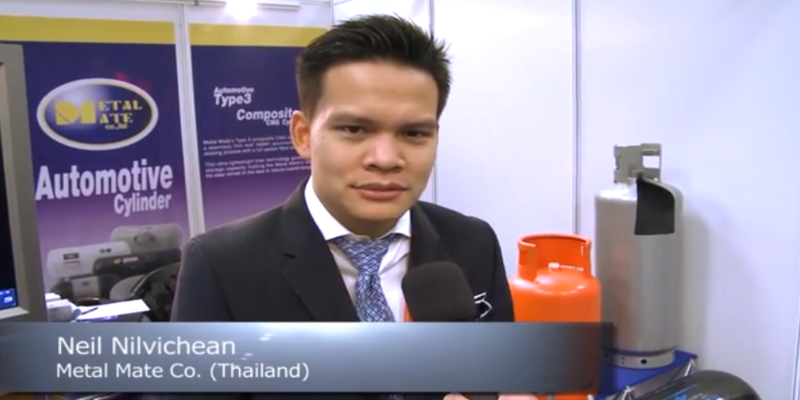 Interview with Neil Nilvichean of Metal Mate Co. at the World LP Gas Forum 2013