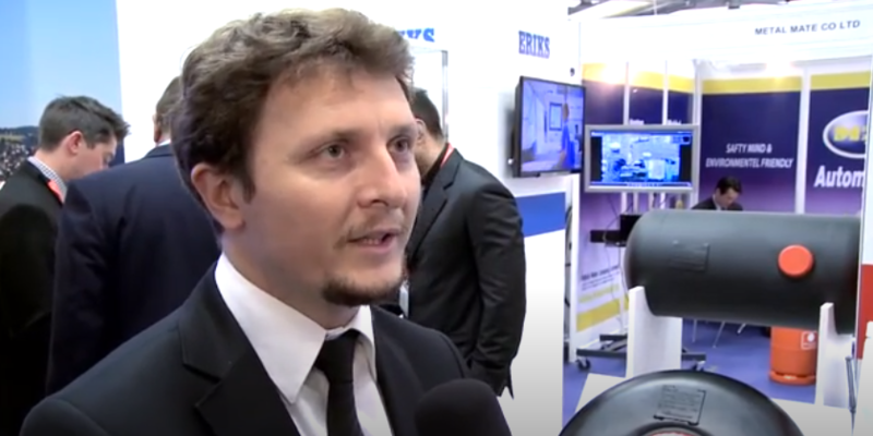 Interview with Ozan Celik of Evas LPG Cylinders at the World LP Gas Forum 2013