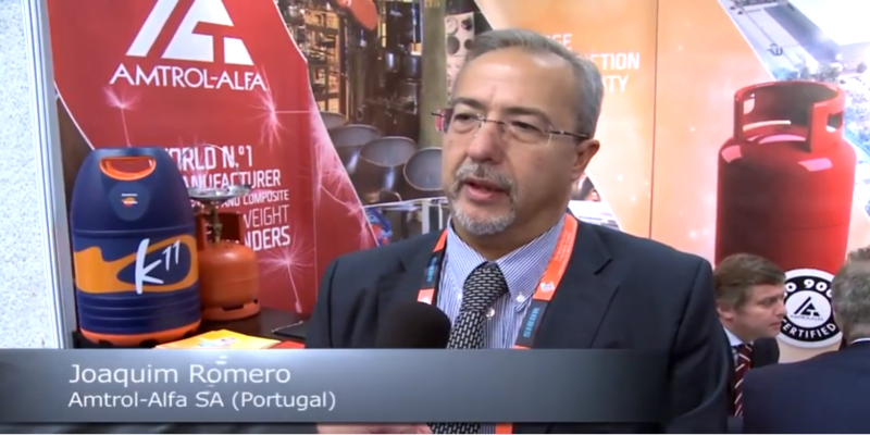 Interview with Joaquim Romero of Amtrol-Alfa at the World LP Gas Forum 2013
