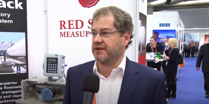 Interview with Simon Garner of Red Seal Measurement at the World LP Gas Forum 2013