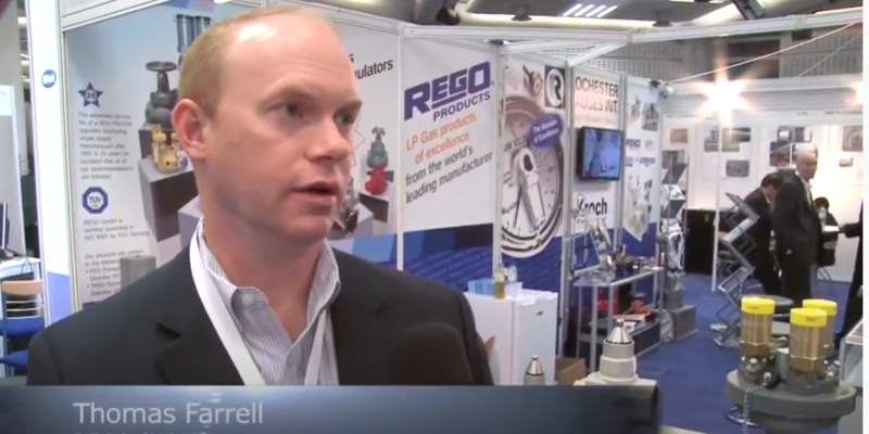Interview with Thomas Farrell of RegO at the World LP Gas Forum 2013